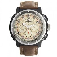 Buy Timberland Watches 13325JPBS-14 Edgewood Mens Brown Genuine Leather strap Watch online