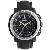 Buy Timberland Watches 13325JPBS-02A Edgewood Mens Black Genuine Leather strap Watch online