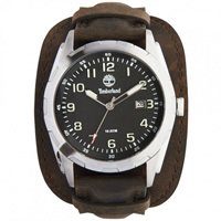 Buy Timberland Watches 13330JS-02A Newmarket Mens Brown Genuine Leather strap Watch online