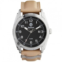Buy Timberland Watches 13330JS-02C Newmarket Mens Beige Genuine Leather strap Watch online
