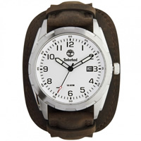 Buy Timberland Watches 13330JS-04 Newmarket Mens Brown Genuine Leather strap Watch online