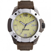 Buy Timberland Watches 13326JPBNS-07 Chocorua Mens Brown Leather strap Watch online