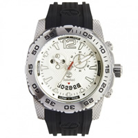 Buy Timberland Watches 13319JS-04 Hydroclimb Mens Black Silicone Strap Watch online