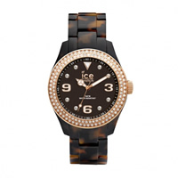Buy Ice-Watch Ice elegant tortoise Rose gold Ladies Watch EL.TRG.U.AC.12 online