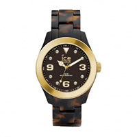 Buy Ice-Watch Ice elegant tortoise gold Ladies Watch EL.TGD.U.AC.12 online