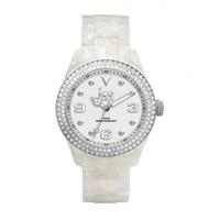 Buy Ice-Watch Ice elegant pearl silver Ladies Watch EL.PSR.U.AC.12 online