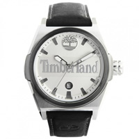 Buy Timberland Watches 13329JSTU-01 Back Bay mens black leather watch online