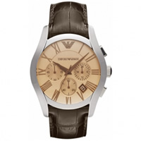 Buy Emporio Armani Watches AR1634 Mens  Brown Leather Watch online