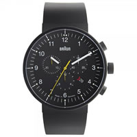 Buy Braun Watches Black Rubber Mens Watch BN0095BKBKBKG online