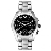 Buy Armani Watches Classic Stainless Steel Unisex Chronograph Watch AR0674 online