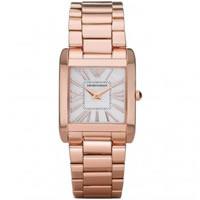 Buy Armani Watches Super slim Rose gold Ladies Watch AR2051 online