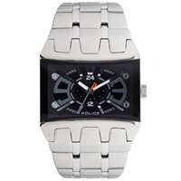 Buy Police Watches PL13420JS-02MA Police Mens Dimension Silver Watch online