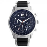 Buy Accurist Watches Stainless steel Gents Chronograph Watch MB897B online