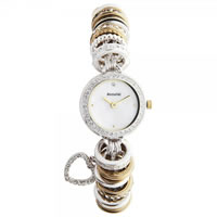 Buy Accurist Watches Charmed Silver & gold plated Ladies Watch LB1430P online