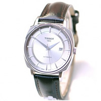 Buy Tissot Watches T059.507.16.031.00 Brown Leather Gents T-Lord Watch online