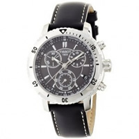 Buy Tissot Watches T067.417.16.051.00 Black Leather Gents PRS 200 Watch online