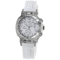 Buy Tissot Watches T048.217.17.017.00 White Chronograph Ladies Watch online
