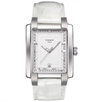 Buy Tissot Watches T061.310.16.031.00 White Leather Ladies Tissot Watch online