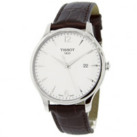 Buy Tissot Watches T063.610.16.037.00 Brown Leather Mens Watch online