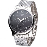 Buy Tissot Watches T063.617.11.067.00 Silver Chronograph Mens Watch online