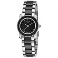 Buy Tissot Watches T064.210.22.051.00 Black Ceramic & Stainless Steel Ladies Watch online