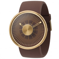 Buy Michael Young Watches MY03-09 Michael Young Mens Hacker Brown & Gold Watch online