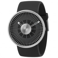 Buy Michael Young Watches MY03-1 Michael Young Mens Hacker Black & Silver Watch online