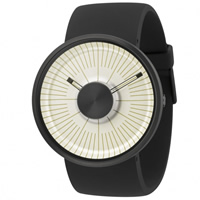 Buy Michael Young Watches MY03-08 Michael Young Mens Hacker Cream & Black Watch online