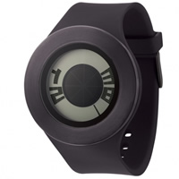 Buy Michael Young Watches MY04-06 Michael Young Mens Sunstitch Black Watch online