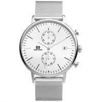 Buy Danish Design Q62Q 975 Mens Stainless Steel Chronograph Watch online