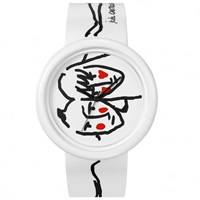 "Buy JCDC Watches JC04-2 JC de Castelbajac Design Unisex ""Chic to Cheek"" Watch online"