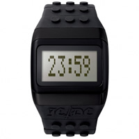 Buy JCDC Watches JC01-13 JC-DC Pop Hours Black Unisex Watch online