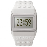 Buy JCDC Watches JC01-14 JC-DC Pop Hours White Unisex Watch online