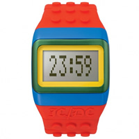 Buy JCDC Watches JC01-15 JC-DC Pop Hours Red Unisex Watch online