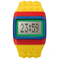 Buy JCDC Watches JC01-16 JC-DC Pop Hours Yellow Unisex Watch online