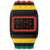 Buy JCDC Watches JC01-11 JC-DC Pop Hours Black and multicolour Unisex Watch online