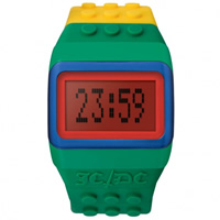Buy JCDC Watches JC01-12 JC-DC Pop Hours Yellow and Green Unisex Watch online
