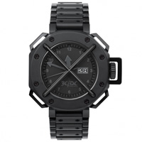"Buy JCDC Watches TT01-1 Unisex ""Time Track"" Black Watch online"