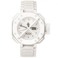 "Buy JCDC Watches TT01-2 Unisex ""Time Track"" White Watch online"