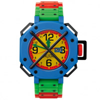 "Buy JCDC Watches TT01-5 Unisex ""Time Track"" Multicoloured Watch online"