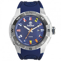 Buy Timberland Watches 13849JS-03 Altamont Mens Blue Rubber Watch online