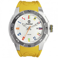 Buy Timberland Watches 13849JS-04A Altamont Mens Yellow Rubber Watch online