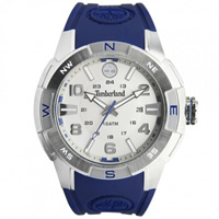 Buy Timberland Watches 13849JS-04A Altamont Mens Blue Rubber Watch online