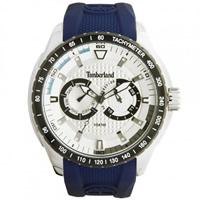 Buy Timberland Watches 13854JSTB-04 Juniper Mens Blue Rubber Watch online