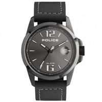 Buy Police Watches PL12591JVSBU-61 Lancer Mens All Black Leather Watch online