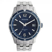 Buy Accurist Watches Silver Gents Watch MB923N online