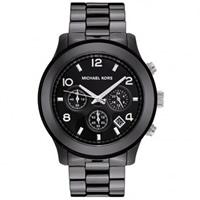 Buy Michael Kors Watches Ladies Chronograph Black Ceramic Watch MK5164 online