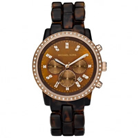 Buy Michael Kors Watches Ladies Chronograph Rose Gold Stainless Steel Watch MK5366 online