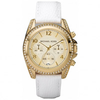 Buy Michael Kors Watches Ladies Chronograph Gold PVD Plated Watch MK5460 online