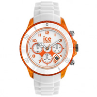 Buy Ice-Watch Ice Chrono Party Sex on the Beach White and Orange Watch CH.WOE.BB.S.13 online